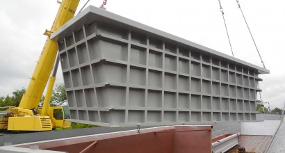 Steel Construction and Loading on Ship